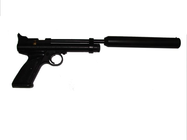 Silencer for Crosman 2240 and 2250 pistol